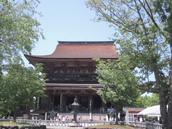 本堂・蔵王堂(国宝)