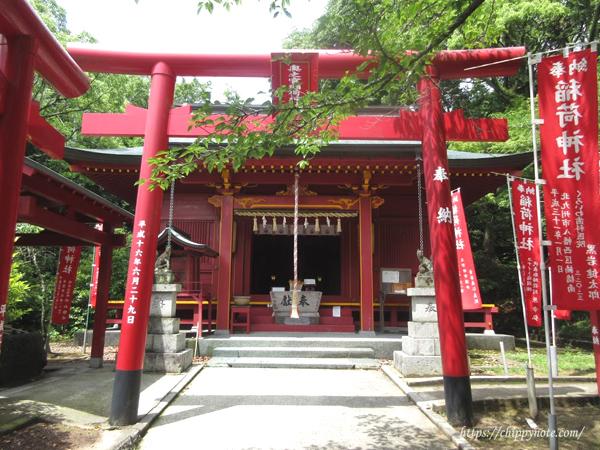稲荷神社・拝殿