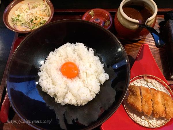 網元食堂のカジキカツカレー・950円