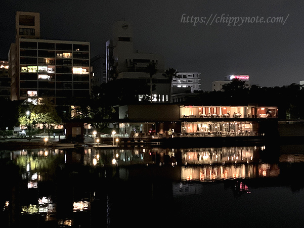 大濠公園夜景