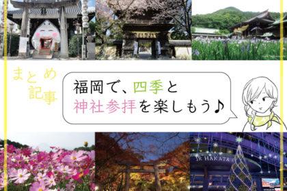 【まとめ記事】福岡で、四季と神社参拝を楽しもう♪-アイキャッチ
